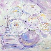 Картины и панно handmade. Livemaster - original item Oil painting on canvas with stretcher 60/45. Memories of Paris. Handmade.