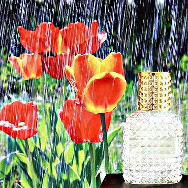 Косметика ручной работы. Ярмарка Мастеров - ручная работа Весенний дождь. Эксклюзивный парфюм ручной работы. Handmade.