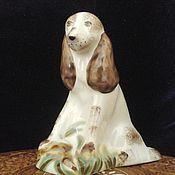 Винтаж ручной работы. Ярмарка Мастеров - ручная работа Фарфоровая статуэтка   Спаниэль. Handmade.