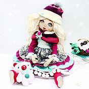 Куклы и пупсы ручной работы. Ярмарка Мастеров - ручная работа Девочка-Зима. Handmade.