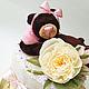 Подарки для новорожденных, ручной работы. Заказать Памперсный торт для девочки. Ольга. Ярмарка Мастеров. Торт из подгузников, оригинальный подарок