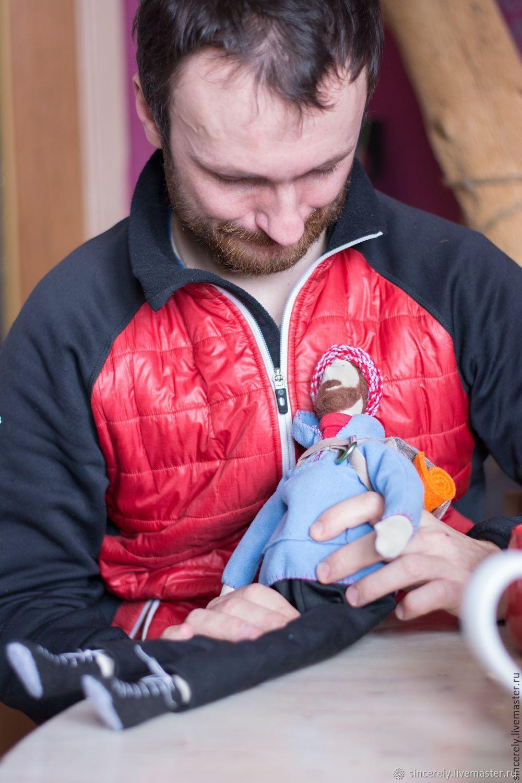 Кукла по фото Путешественник, Портретная кукла, Зеленоград,  Фото №1