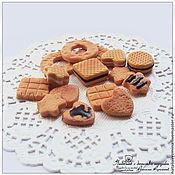 Куклы и игрушки ручной работы. Ярмарка Мастеров - ручная работа Печеньки (кулинарная миниатюра). Handmade.