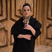 """Одежда ручной работы. Ярмарка Мастеров - ручная работа Пальто """"В чёрном"""". Handmade."""