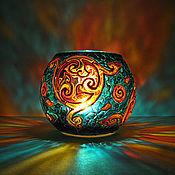 Для дома и интерьера ручной работы. Ярмарка Мастеров - ручная работа Подсвечник Кельтский. Handmade.
