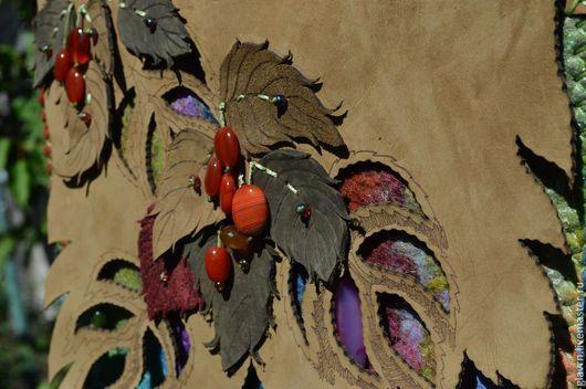 Женские сумки ручной работы. Ярмарка Мастеров - ручная работа. Купить Сумка Ветка ягод. Handmade. Абстрактный, Сумка авторская