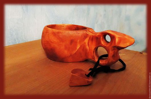 Кружки и чашки ручной работы. Ярмарка Мастеров - ручная работа. Купить кукса. Handmade. Бежевый, кукса, чашка, из дерева