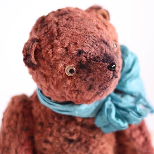 Мишки Тедди ручной работы. Ярмарка Мастеров - ручная работа. Купить Мишка Англичанин. Handmade. Коралловый, авторский медведь. Клетчатый Крокодил.