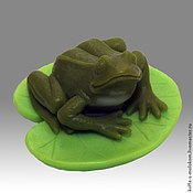 Материалы для творчества handmade. Livemaster - original item Silicone molds for soap Frog on kuchinke. Handmade.