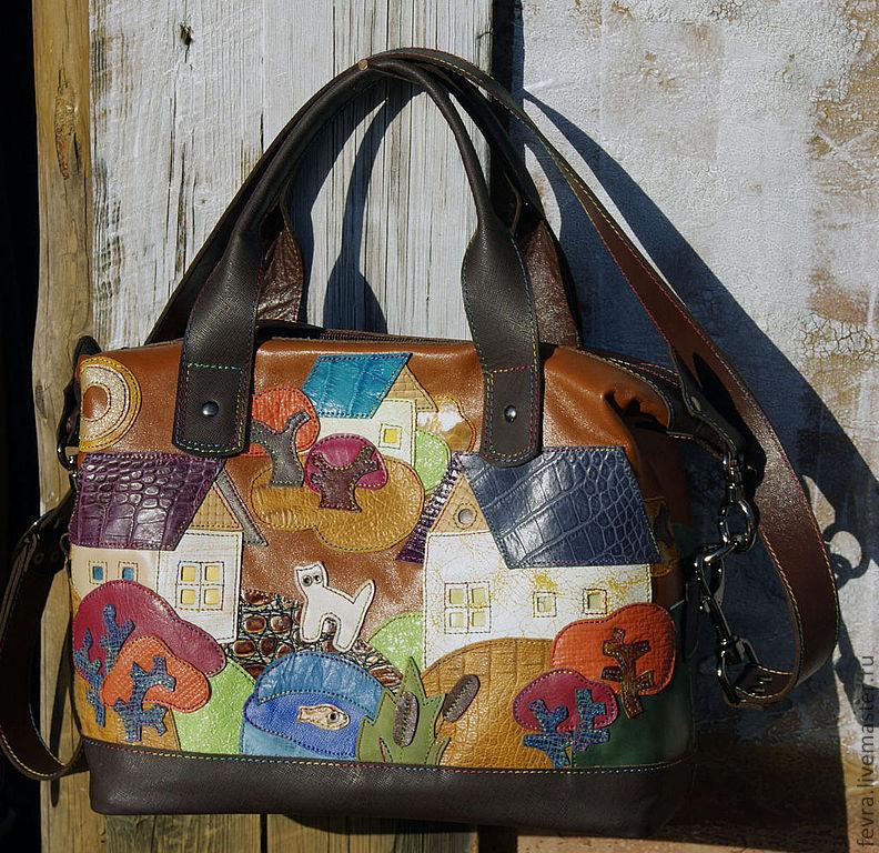 Bag 'Honey summer', Classic Bag, Moscow,  Фото №1