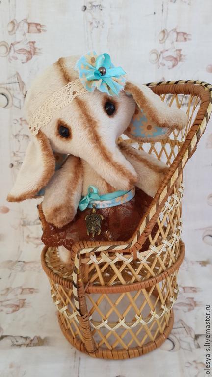 Игрушки животные, ручной работы. Ярмарка Мастеров - ручная работа. Купить Маруся.... Handmade. Бежевый, подарок на любой случай