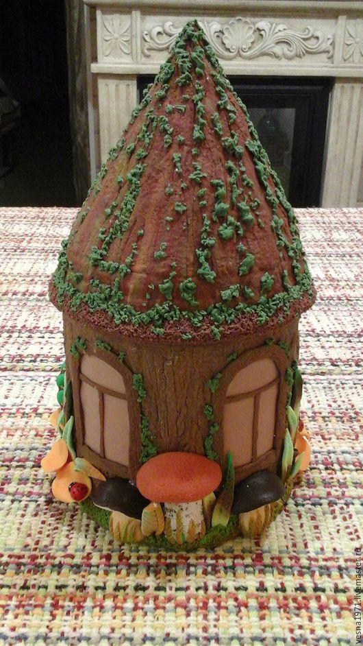 Кухня ручной работы. Ярмарка Мастеров - ручная работа. Купить домик -баночка, украсит дом Марии. Handmade. Баночка для кофе