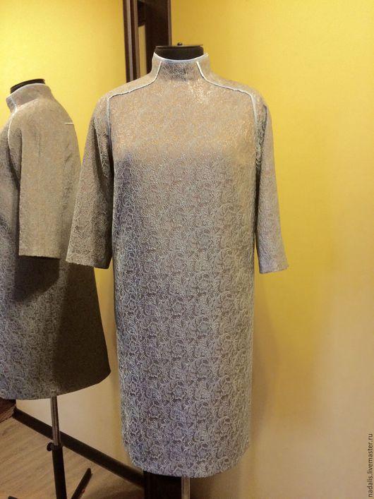 """Платья ручной работы. Ярмарка Мастеров - ручная работа. Купить платье вечернее """"жаккард"""" ЭКО. Handmade. Комбинированный, индивидуальный заказ"""