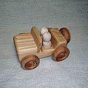Куклы и игрушки handmade. Livemaster - original item Wooden car Jeep-SUV. Handmade.