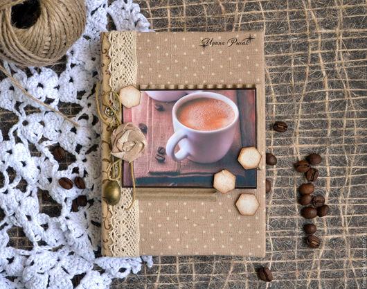 Ароматный блокнот `Кофейный`.