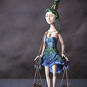 Куклы и игрушки ручной работы. Ярмарка Мастеров - ручная работа Весы. Handmade.