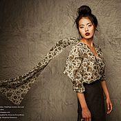 """Одежда ручной работы. Ярмарка Мастеров - ручная работа Блузка из коллекции """"Marco Polo"""". Handmade."""