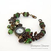 Украшения handmade. Livemaster - original item Watches women wrist. watches. Quartz watch with bracelet. Handmade.