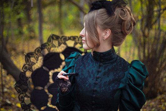 Blazers & Jackets handmade. Livemaster - handmade. Buy Historical jacket.Dark green, chic jacket
