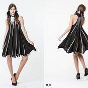 Одежда ручной работы. Ярмарка Мастеров - ручная работа BB_041 Платье «Летучая мышь» с американской проймой. Handmade.
