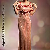 """Одежда ручной работы. Ярмарка Мастеров - ручная работа Платье вечернее """" Эдем"""". Handmade."""
