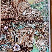 """Картины и панно ручной работы. Ярмарка Мастеров - ручная работа Картина """"Из твоих рук..."""". Handmade."""