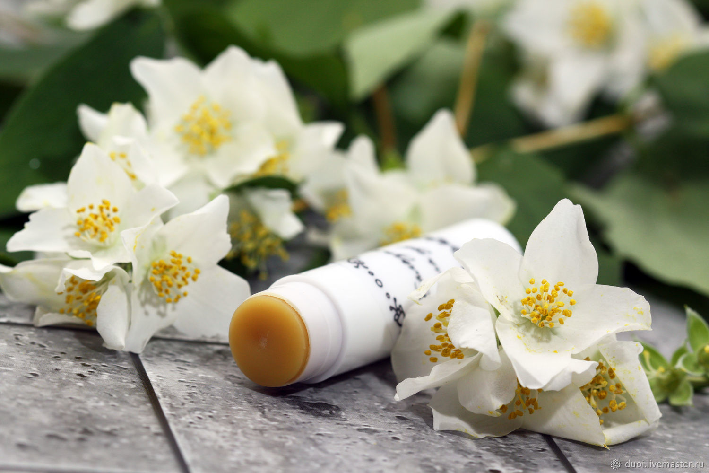 Lip balm with wax Jasmine, Lip Balm, Moscow,  Фото №1