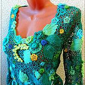 """Одежда ручной работы. Ярмарка Мастеров - ручная работа Джемпер """"Весенний ветер"""". Handmade."""