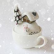 Для дома и интерьера ручной работы. Ярмарка Мастеров - ручная работа Зима. Handmade.