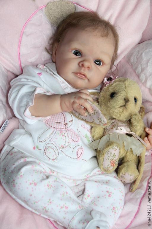 Куклы-младенцы и reborn ручной работы. Ярмарка Мастеров - ручная работа. Купить Кукла реборн Джилл.. Handmade. Кукла