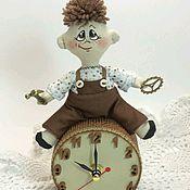 Для дома и интерьера ручной работы. Ярмарка Мастеров - ручная работа Часы настольные Хранитель времени. Handmade.