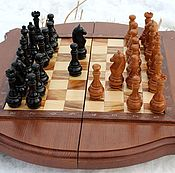 Куклы и игрушки handmade. Livemaster - original item Chess.Manual work.No. .№2. Handmade.