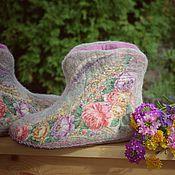 """Обувь ручной работы. Ярмарка Мастеров - ручная работа Чуни """"Летний сон"""". Handmade."""