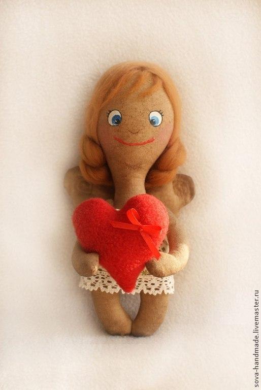 Ангелочек игрушка своими руками фото