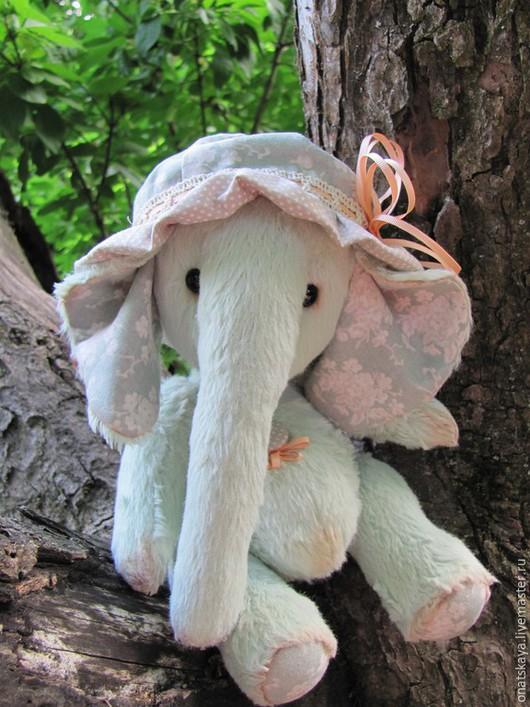 Мишки Тедди ручной работы. Ярмарка Мастеров - ручная работа. Купить Слонёнок Митта. Handmade. Слоник, игрушка ручной работы