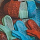 """Комплекты аксессуаров ручной работы. Шапочка женская . Шапка шерстяная """"Бирюзовый вкус ..войлок...."""". Бекетова Наталья BeknataFelting. Ярмарка Мастеров."""