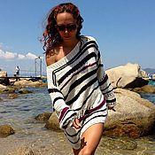 """Одежда ручной работы. Ярмарка Мастеров - ручная работа свитер из к/ф """"Другая женщина"""". Handmade."""
