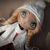 """Куклы и игрушки ручной работы. Ярмарка Мастеров - ручная работа Текстильная кукла тыквоголовка  """"Герда"""". Handmade."""