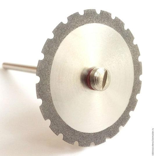 Другие виды рукоделия ручной работы. Ярмарка Мастеров - ручная работа. Купить Диск с алмазным краем 30 мм зубчатый. Handmade.