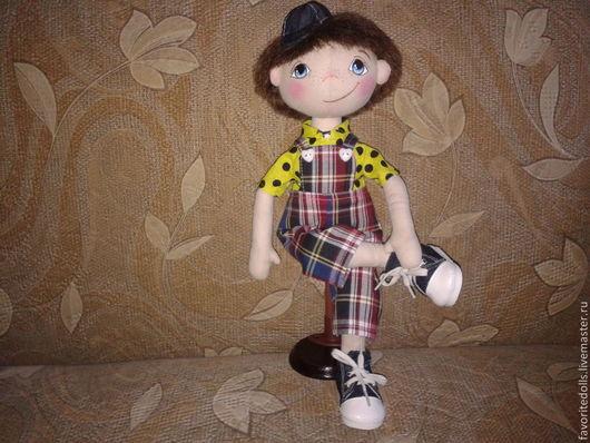 Куклы тыквоголовки ручной работы. Ярмарка Мастеров - ручная работа. Купить Текстильная кукла. Handmade. Интерьерная кукла