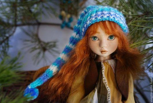 Коллекционные куклы ручной работы. Ярмарка Мастеров - ручная работа. Купить Ирина. Handmade. Оранжевый, одежда для кукол
