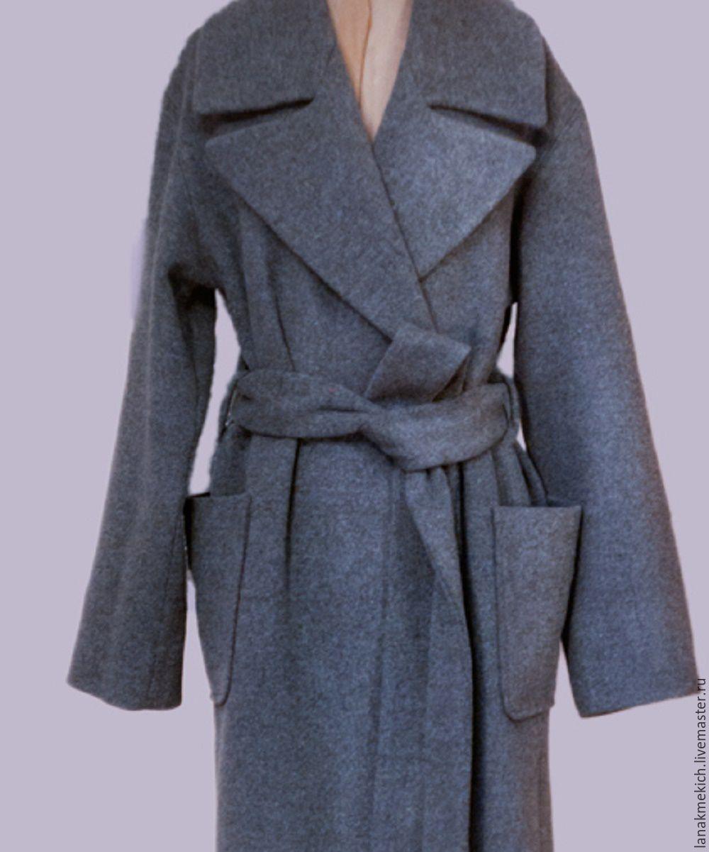 Coat with belt 'Urban fashion', Coats, Moscow,  Фото №1