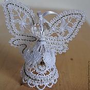 Сувениры и подарки handmade. Livemaster - original item Angel with a bell. Handmade.
