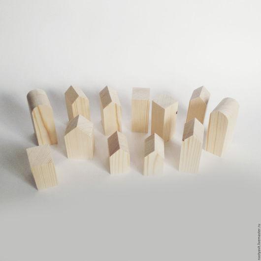 Вальдорфская игрушка ручной работы. Ярмарка Мастеров - ручная работа. Купить Домики. Handmade. Дерево, игрушка ручной работы, домик