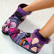 Обувь ручной работы. Ярмарка Мастеров - ручная работа Чуни на подошве. Handmade.