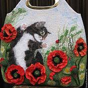 Сумки и аксессуары handmade. Livemaster - original item Felted bags