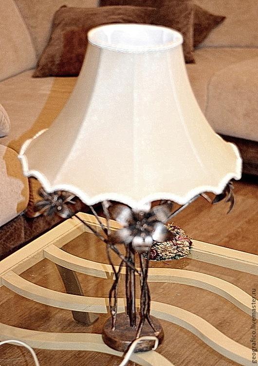 """Освещение ручной работы. Ярмарка Мастеров - ручная работа. Купить Настольная лампа """"Нежность"""". Handmade. Освещение, интерьерная композиция"""