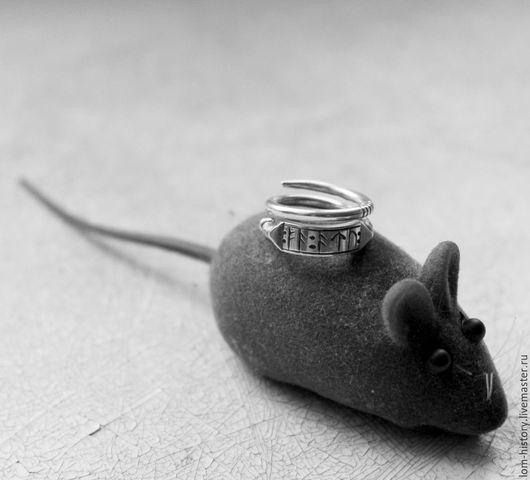 Кольцо из серебра «Золота тебе» / Кольцо серебро 925 / кольцо серебро с пожеланием.  Также можно приобрести в латуни (300 р.)