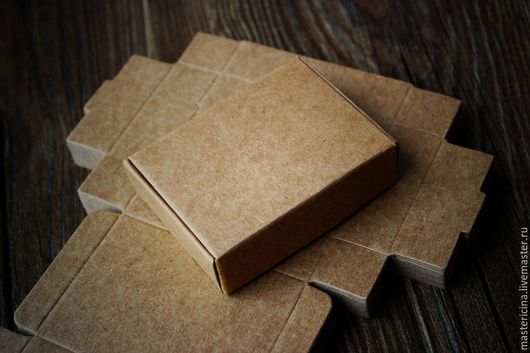 Упаковка ручной работы. Ярмарка Мастеров - ручная работа. Купить Коробка для упаковки прямоугольная крафт 5. Handmade. Бежевый, упаковка