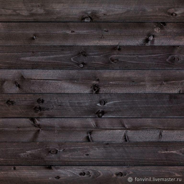 Виниловый фон 50х50 Деревянный, Серый, Фотофоны, Челябинск,  Фото №1